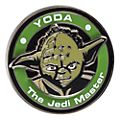 Pin's médaillon Yoda de Stars Wars Disneyland Paris