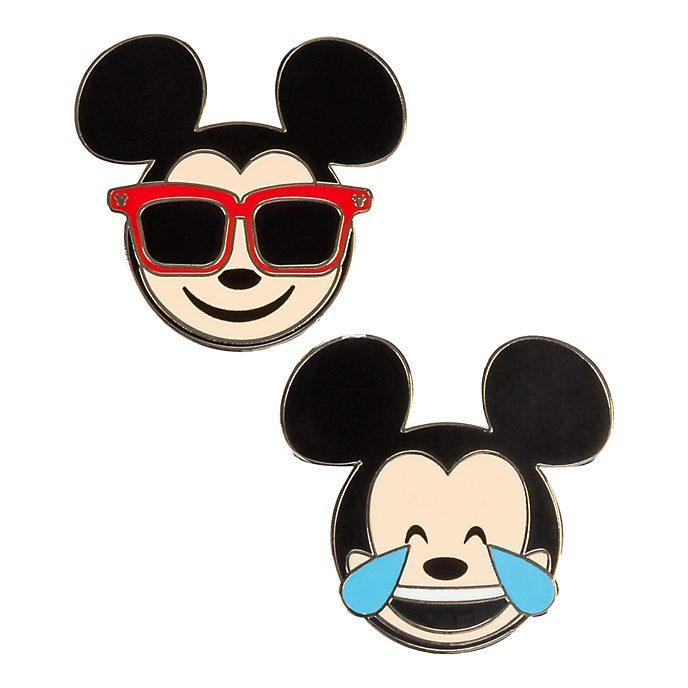 Disneyland Paris Mickey Mouse Emoji Pins