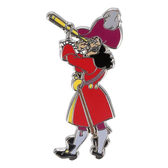 Disneyland Captain Hook Favourite Heroes Pin