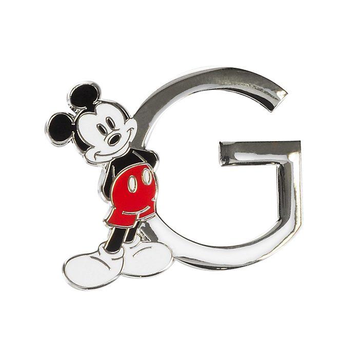 "Disneyland Paris Pin's lettre ""G"" Mickey Mouse"