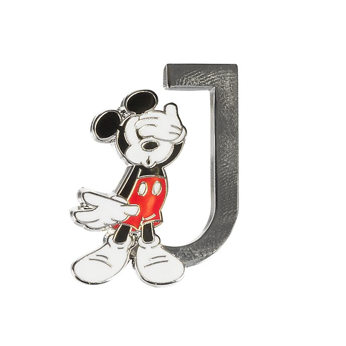 "Disneyland Paris Pin's lettre ""J"" Mickey Mouse"