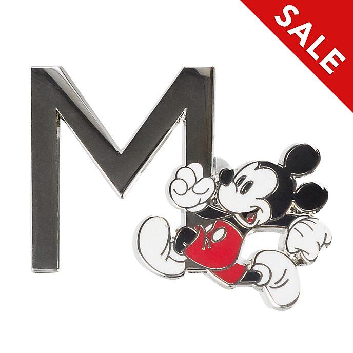 Disneyland Paris Mickey Mouse 'M' Letter Pin