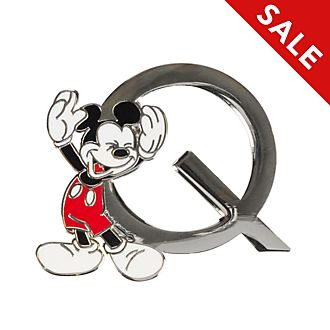 Disneyland Paris Mickey Mouse 'Q' Letter Pin