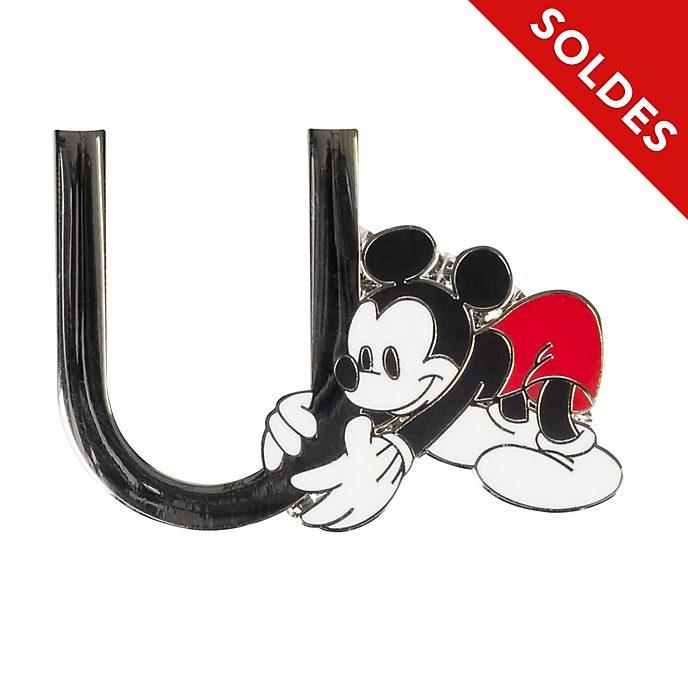"Disneyland Paris Pin's lettre ""U"" Mickey Mouse"