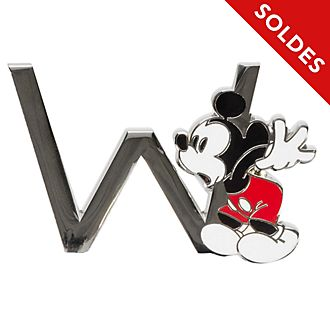 "Disneyland Paris Pin's lettre ""W"" Mickey Mouse"
