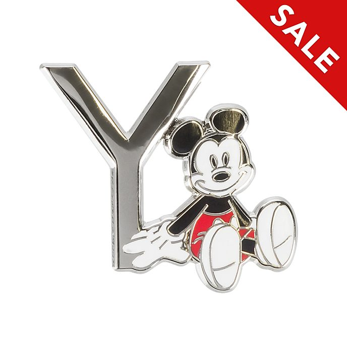 Disneyland Paris Mickey Mouse 'Y' Letter Pin