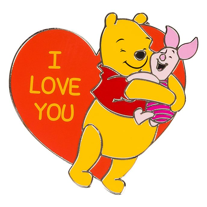 Disneyland Winnie The Pooh And Piglet Message Pin