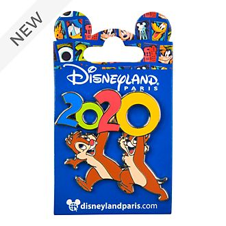 Disneyland Paris Chip 'n' Dale 2020 Pin