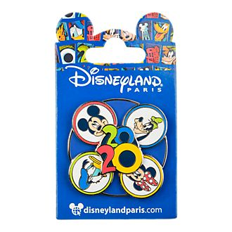 Disneyland Paris Mickey and Friends 2020 Spinning Pin