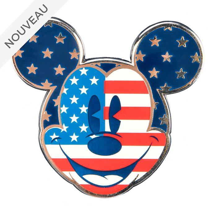 Disneyland Paris Pin's visage Mickey Mouse Americana