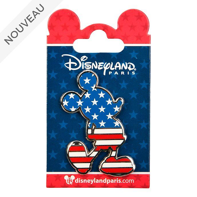 Disneyland Paris Pin's silhouette Mickey Mouse Americana