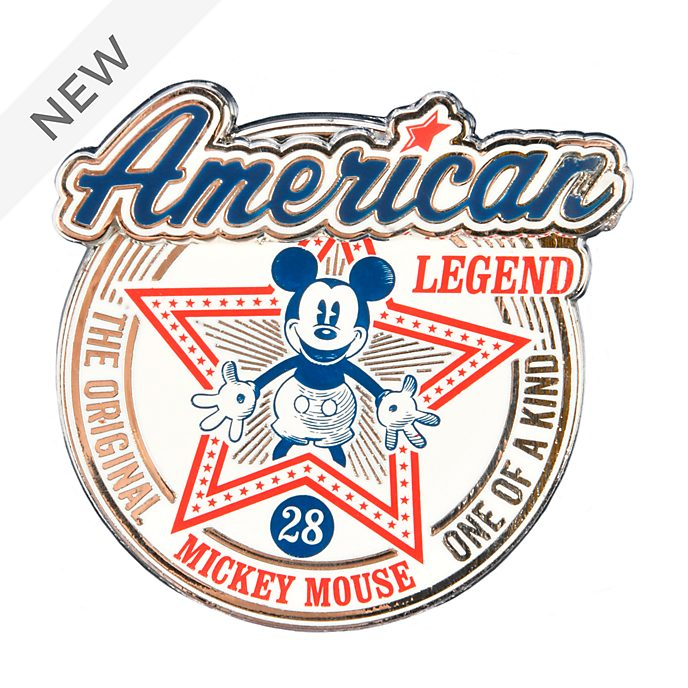 Disneyland Paris Mickey Mouse American Legend Pin