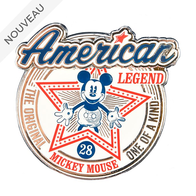 Disneyland Paris Pin's Mickey Mouse American Legend