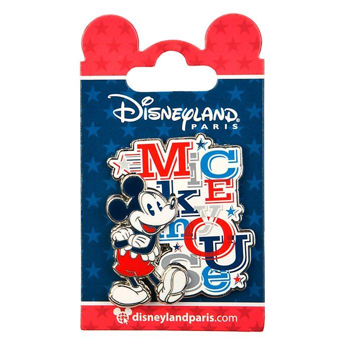 Disneyland Paris Mickey Mouse Americana Pin