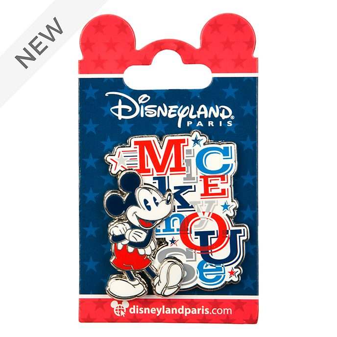 Disneyland Paris Mickey Mouse Americana Pin