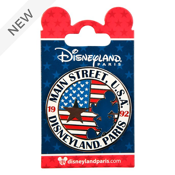 Disneyland Paris Mickey Mouse Main Street Americana Pin