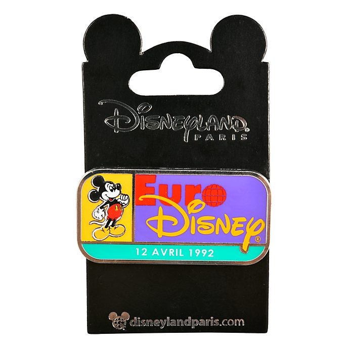 Disneyland Paris Mickey Mouse Euro Disney Pin