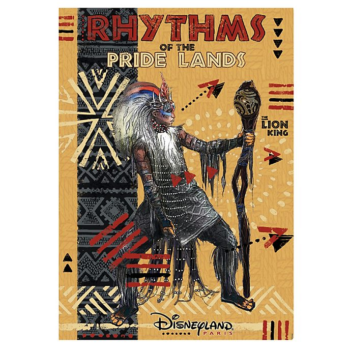Disneyland Paris The Lion King: Rhythms of the Pride Lands Poster