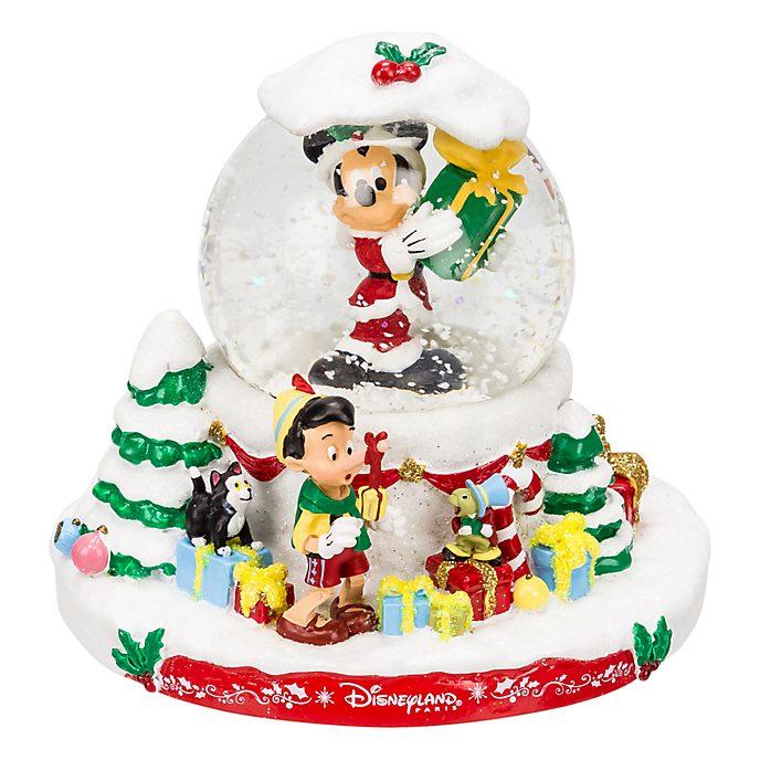 Disneyland Paris Boule à neige Noël