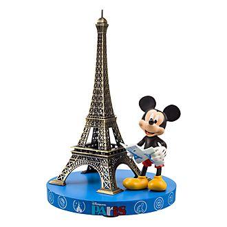 Figurine souvenir Mickey Mouse et la tour Eiffel Disneyland Paris
