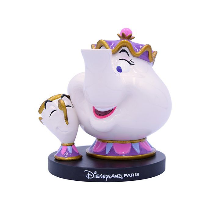 Disneyland Paris Mrs Potts and Chip Figurine