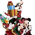 Figurine de Noël Mickey et ses Amis en Voiture Disneyland Paris