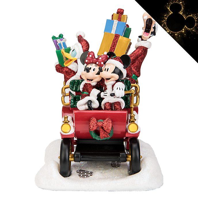 Disneyland Paris Mickey and Friends Holiday Car Trip Figurine