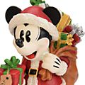 Disneyland Paris Mickey and Minnie Light-Up Christmas Figurine