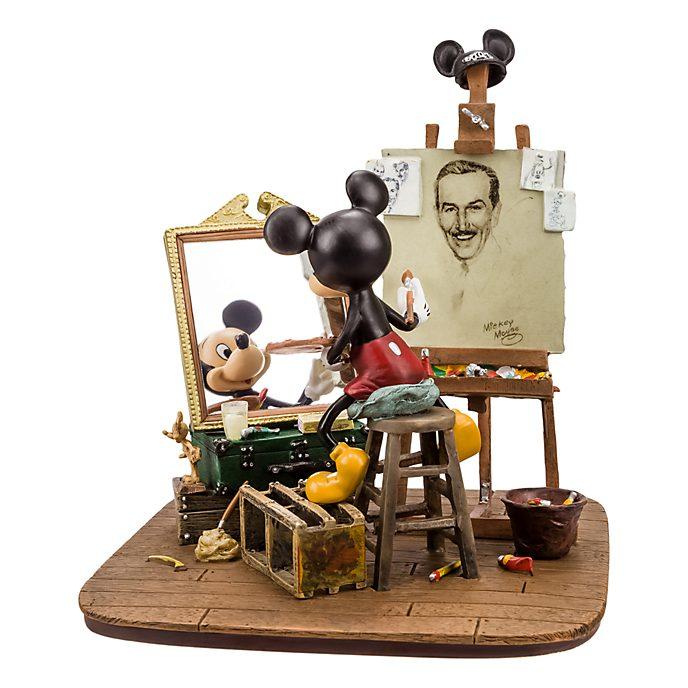 Disneyland Paris Mickey Mouse and Walt Disney Figurine