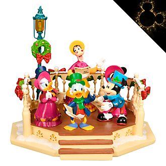 Disneyland Paris Mickey's Christmas Carol Musical Light-Up Figurine