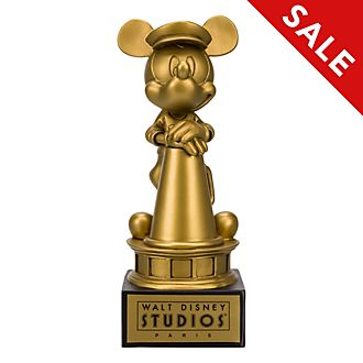 Disneyland Paris Mickey Mouse Golden Award