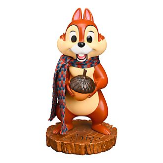 Disneyland Paris Chip Christmas Figurine, Chip 'n' Dale