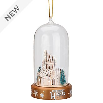 Disneyland Paris Fantasyland Castle Light-Up Hanging Ornament