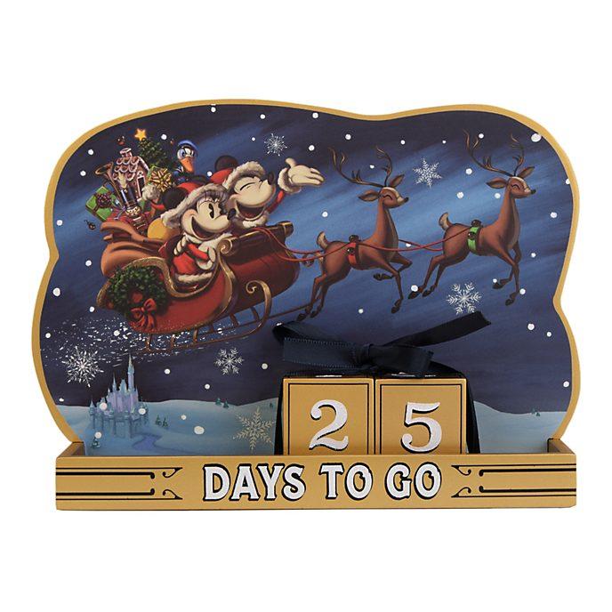 Disneyland Paris Décompte de Noël Mickey et Minnie
