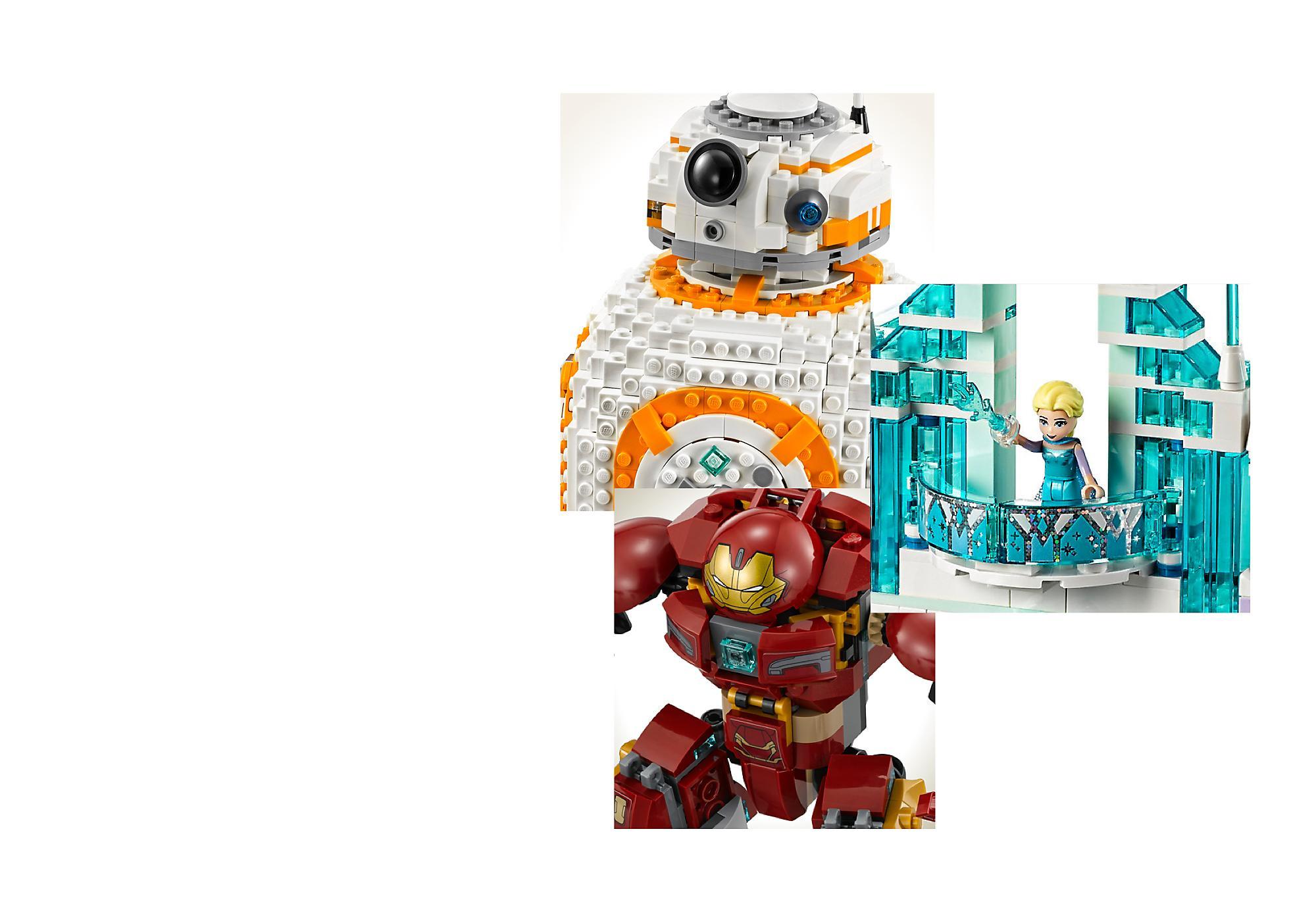 Immaginazione e divertimento senza fine Ti aspetta un divertimento senza fine con la nostra selezione di collezioni LEGO.
