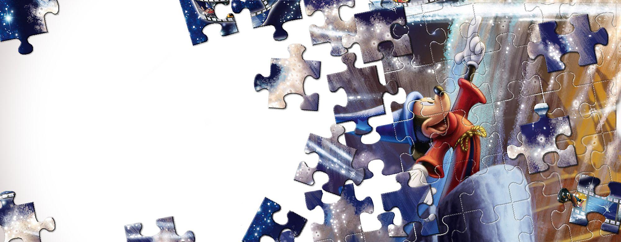 Ravensburger Hazte con un puzzle de tu personaje Disney favorito gracias a Ravensburger. Consulta el catálogo completo. **Productos próximamente disponible de nuevo**