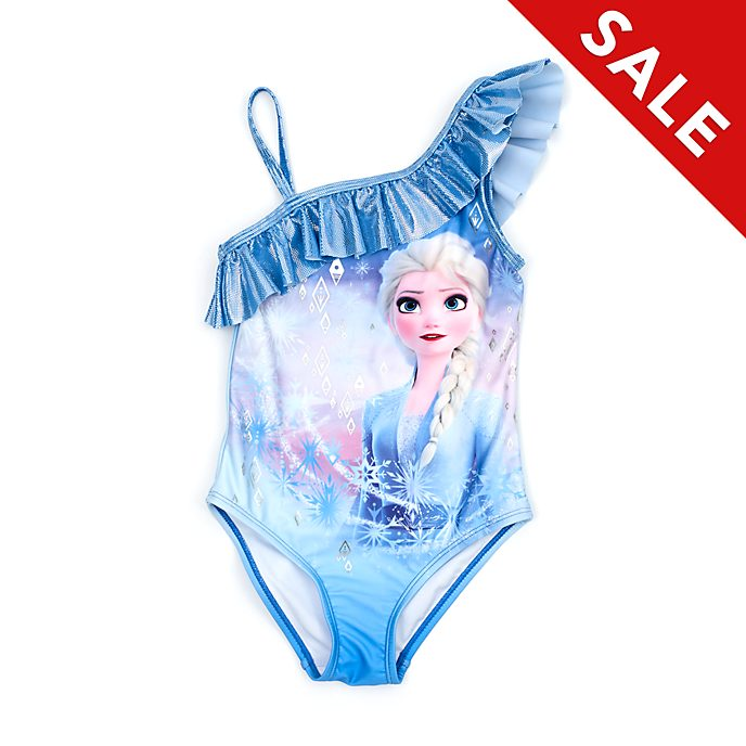 Disney Store Elsa Swimming Costume For Kids, Frozen 2