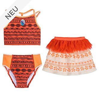 Disney Store - Vaiana - 3-teiliges Badebekleidungsset für Kinder