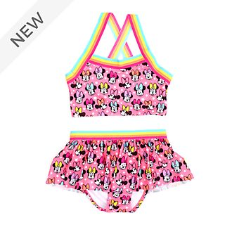 Disney Store Minnie Mouse 2-Piece Swimsuit For Kids