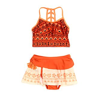 Disney Store Moana 2 Piece Swimsuit For Kids
