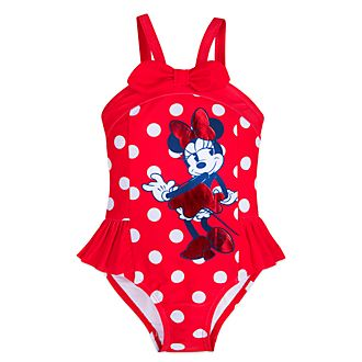 Disney Store Minnie Mouse Swimming Costume For Kids