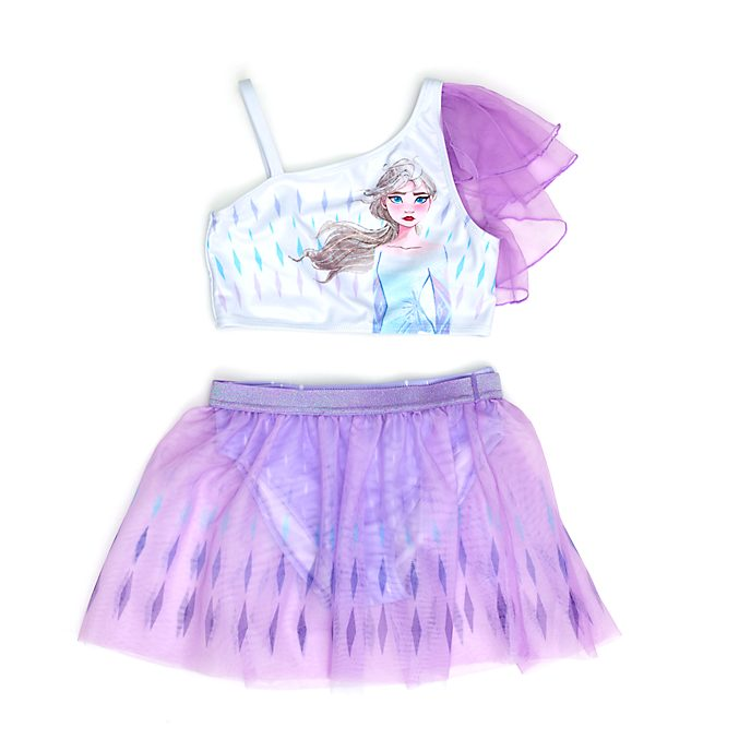 Disney Store Elsa 3- Piece Swimsuit For Kids, Frozen 2