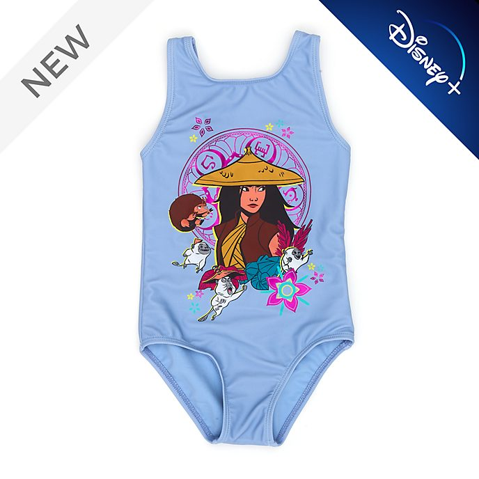 Disney Store Raya and the Last Dragon Swimming Costume For Kids