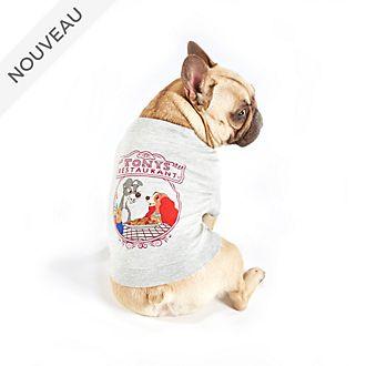 Disney Store T-shirt La Belle et le Clochard pour chiens