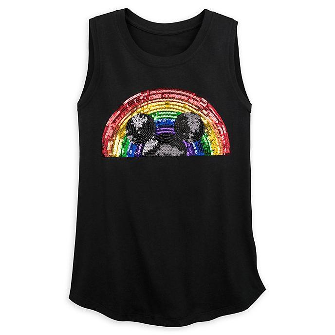 Disney Store Débardeur Rainbow Disney pour adultes