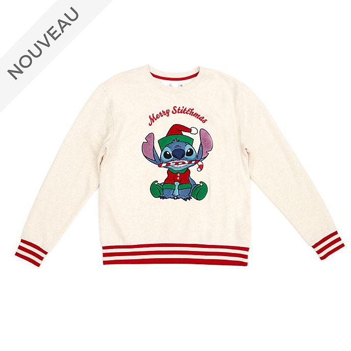 Disney Store Sweat de Noël Stitch pour adultes