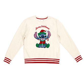 Sudadera navideña para adultos Stitch, Disney Store
