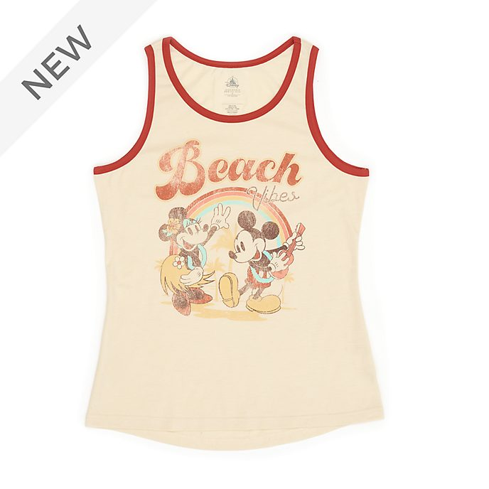 Disney Store Mickey and Minnie Tank Top For Adults