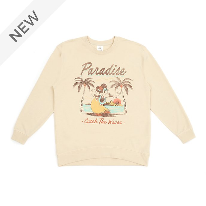 Disney Store Minnie Mouse Sweatshirt For Adults