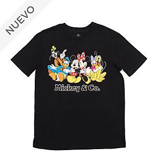 Camiseta Mickey y sus amigos para adultos, Disney Store